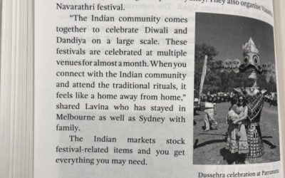 How is it to celebrate festivals abroad?
